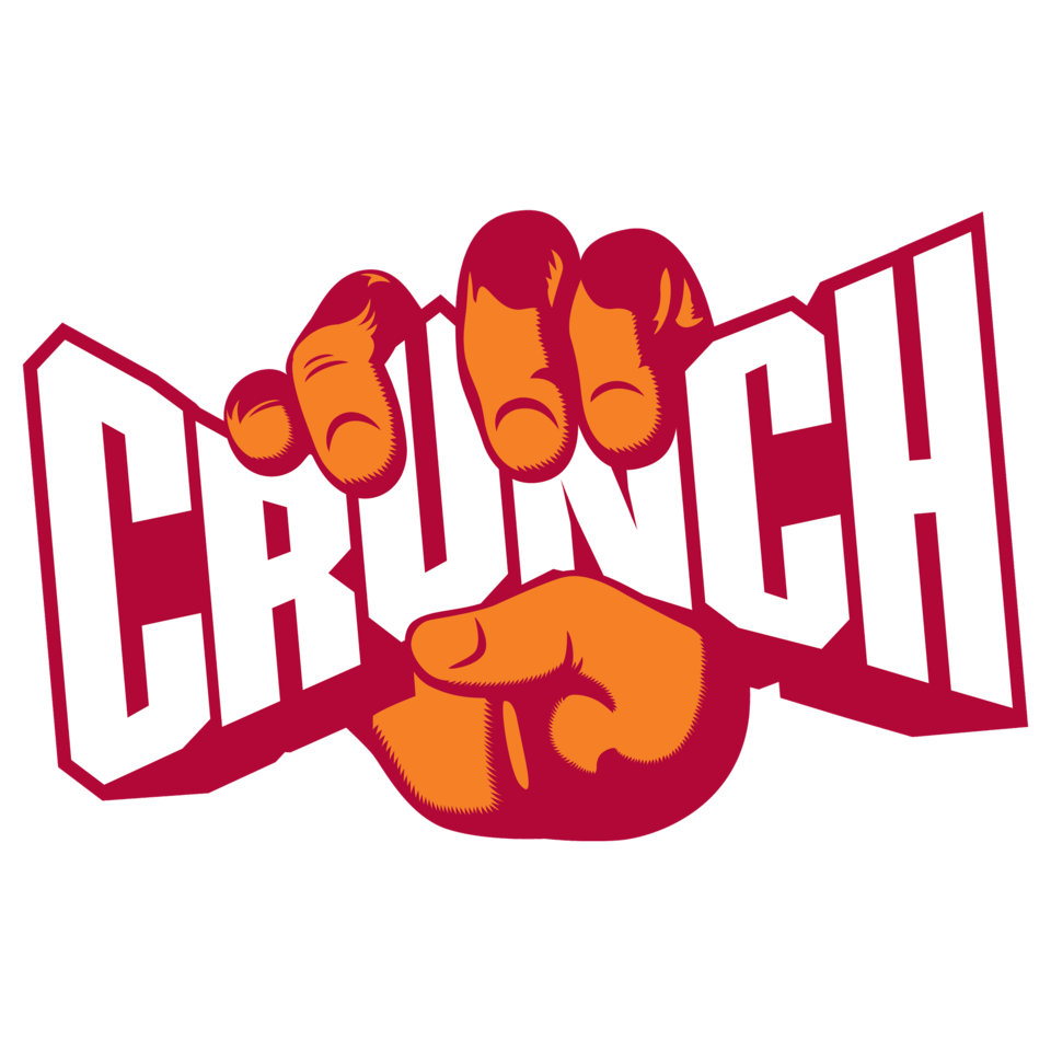 crunch logo water mark